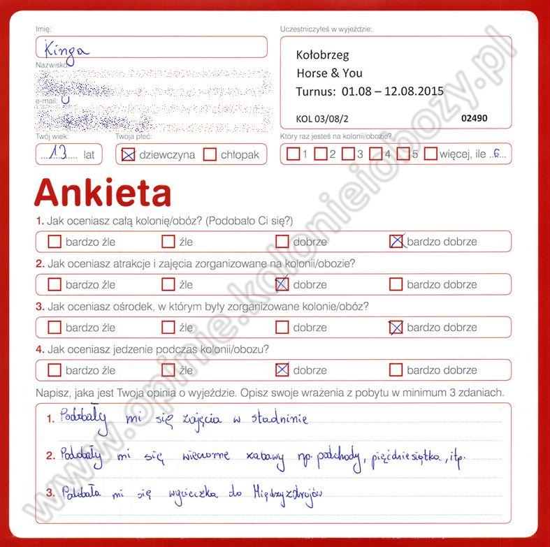 Ania 14 lat kolonie w chorwacji 2008 7