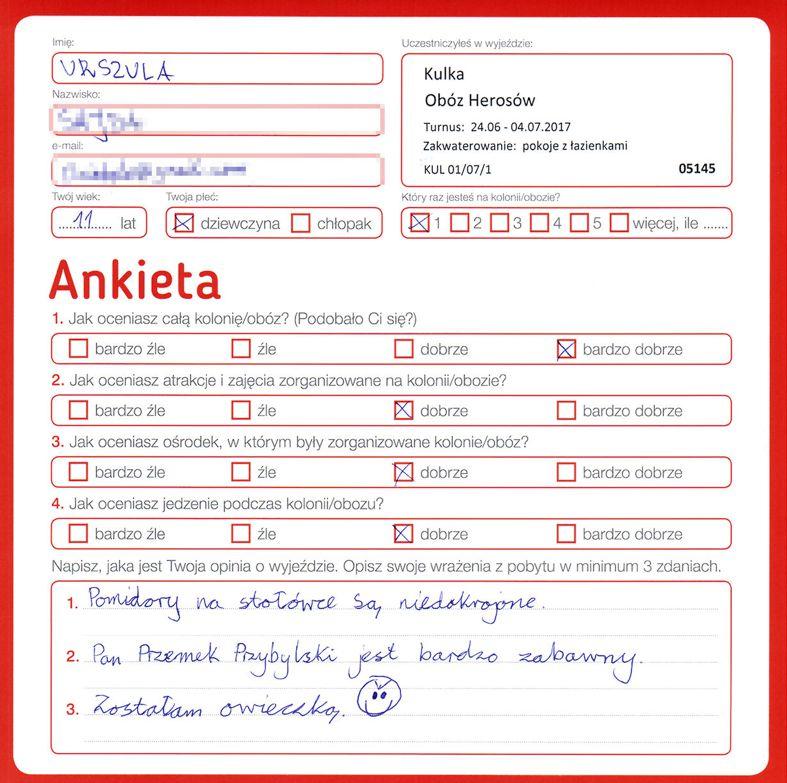 Ania 14 lat kolonie w chorwacji 2008 2